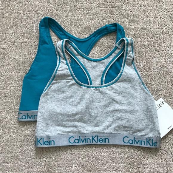 041d709bfb Calvin Klein Radiant Bralette 2 Pack NWT